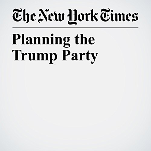 Planning the Trump Party copertina