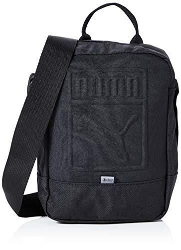 PUMA Unisex– Erwachsene S Portable umhängetasche, Black, OSFA