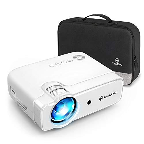 VANKYO Proiettore, Videoproiettore 5000 Lumen con 236' Display, Supporta 1080P, HiFi Speaker, con Borsa Portatile, per TV Stick iOS/Android/Entry-Level/Regalo, Leisure 430