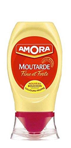 Amora Senf Fine et Forte 265g in der praktischen Dosierflasche