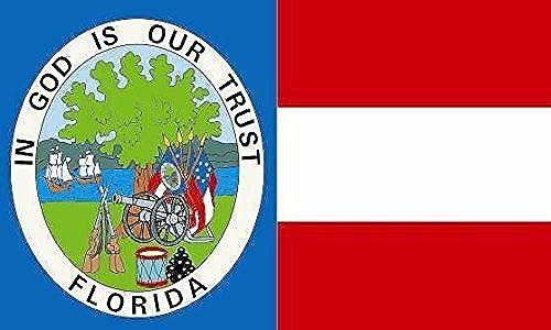 U24Drapeau du Floride 1861Bateau Drapeau haute qualité pour 120x 180cm