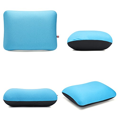 Lightweight Inflatable Soft Camping & Travel Pillow with Fast Inflate/Deflate Valve UK Brand