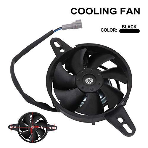 Ventilador de radiador de la motocicleta ventilador de refrigeración eléctrico universal para chino 200cc 250cc Quad ATV 4 Wheeler Go Kart Dirt Pit Motor Bike UTV
