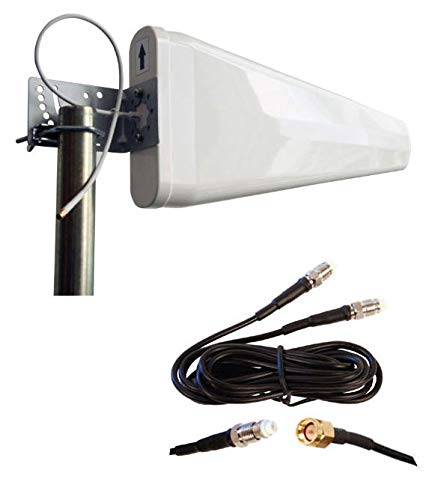 External Log Periodic yagi Antenna for D-Link DWR-961 4G LTE Router 3G 4G LTE Directional Aerial