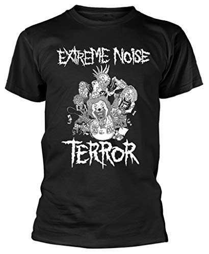 Extreme Noise Terror 'In It for Life' (Black) T-Shirt (Large)