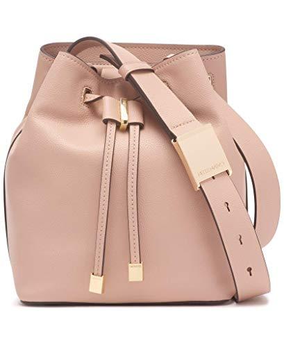 High quality leather 1 interior slip pocket & 1 interior zip pocket Adjustable crossbody strap