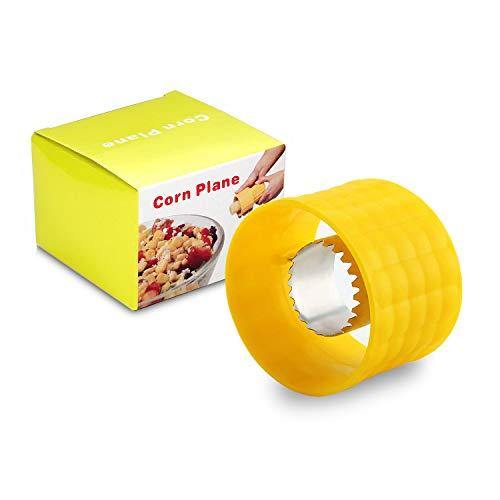 Corn Cob Stripper Peeler Cutter Stripping Corn Kernels Remover Kitchen Gadgets Set, 1 Pc per Box, Thresher Tool