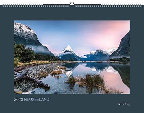 Neuseeland 2020: Kalender 2020 (KUNTH Wandkalender Black Edition)
