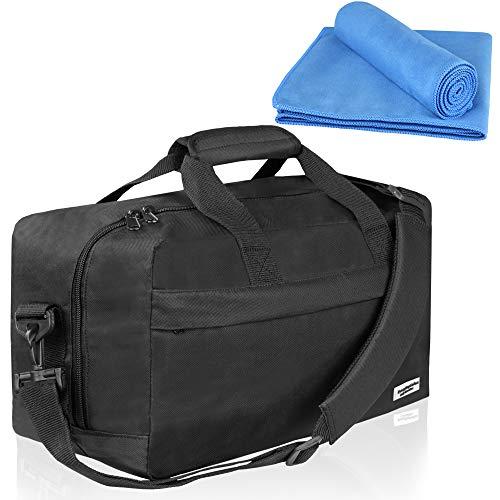 EveryDaySafari® [handbagage] Ryanair geschikt 40 x 20 x 25 cm hand-reistas, bagage, schoudertas, sporttas cabinebagage, Easyjet, Eurowings