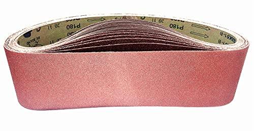 Bandas de Lija 100 x 915mm, Banda Abrasiva 2 x grano 60/80/120/180/240/400...