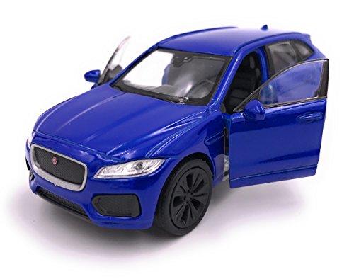 H-Customs Jaguar F-Pace SUV modelauto gelicentieerd product 1:34 willekeurige kleurkeuze