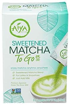 Aiya Matcha Sweetened To Go 3.38 Ounce