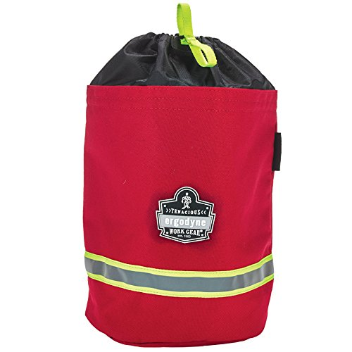 Arsenal 5080L Fireman's SCBA Respirator Firefighter Mask Bag for air pack with Fleece Lining