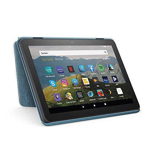 Hülle für Fire HD 8-Tablet | Kompatibel mit der 10. Generation (2020), Dunkelblau