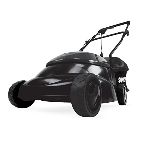 Sun Joe MJ401E-SJB Mow Joe 14-Inch 12 Amp Electric Lawn Mower with Grass Bag