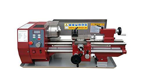 PAULIMOT Sondermodell: Drehmaschine SIEG SC4 mit 230 Volt Motor 1000 Watt 125 mm Futter 510 mm Spitzenweite