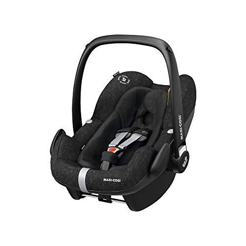 Maxi-Cosi Pebble Plus Baby Car Seat Group 0+, ISOFIX Car Seat, i-Size, 0-12 m, 0-13 kg, 45-75 cm, Nomad Black