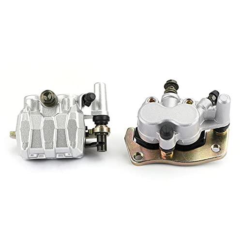 ZMMWDEJuego de Pinzas de Freno Delantero 3LD-2580T-01 L&R, para Yamaha YXR45F Rhino 450700660 YXR45 YXR660FA YXR660 YXR700 YXR700F