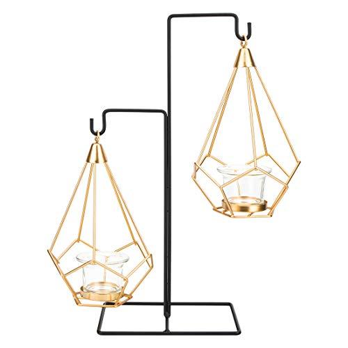 Candelabros Dorados Decorativos De Velas candelabros dorados  Marca peinat