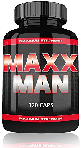 Vargpower Maxx Man Lot de 120 capsules pour des muscles plus importants plus rapidement