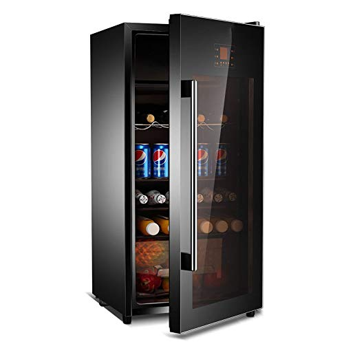 Best Bargain Wine Cooler Wine Cooler Refrigerator Wine Storage Ice Bar Household Thermostatic Single Door Refrigerator Fresh Cabinet Touch Digital Display