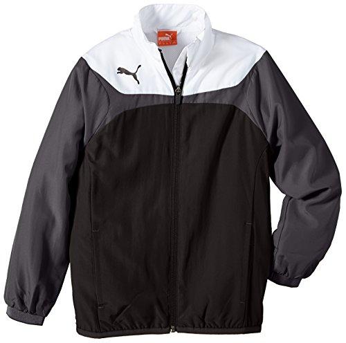 PUMA Kinder Jacke Esito 3 Leisure Jacket, Black/White, 140