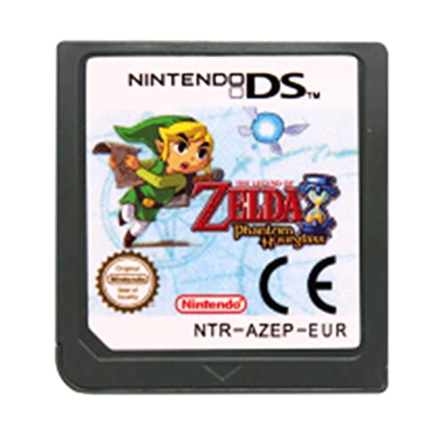 LINLIN DS Tarjeta de Consola del Cartucho de Juego La Leyenda de Zel da Serie English Language Fit for Nintendo DS 3DS 2DS Sally (Color : Phantom Hourglass EU)