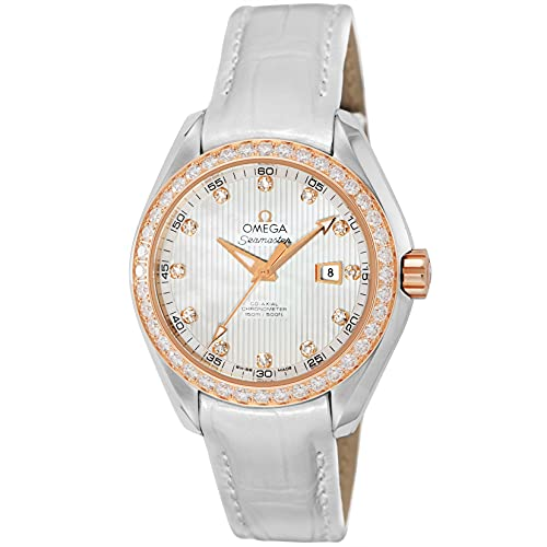 [OMEGA(オメガ)] 腕時計 シーマスター アクアテラ 231.28.34.20.55.002 レディース ホワイト [並行輸入品]