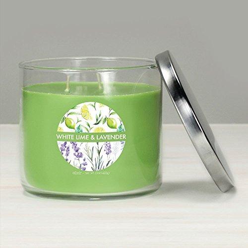 GOOSE CREEK Elixir Bougie parfumée en verre à 3 mèches Citron vert et lavande 425 g