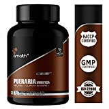Amalth Pueraria Mirifica Extract Powder Dietary Supplements Veggie 90 Capsules Helps in Curvy Shape