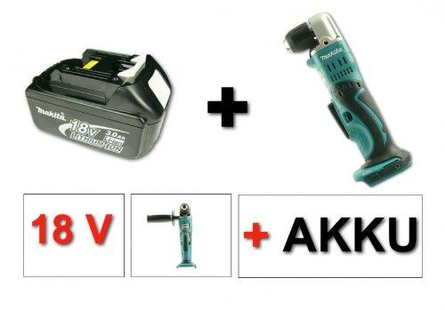 Makita BDA 351 18V accu-haakse boormachine + 1x Makita-accu BL1830 B 18 V 3000 mAh