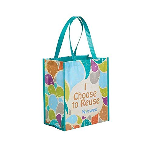 Norwex Resusable Grocery Bag with BacLock - Retro