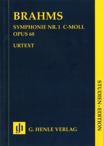 Symphonie Nr. 1 c-moll op. 68. Studien-Edition