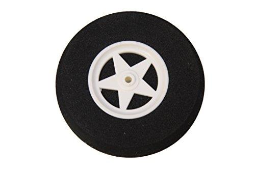 Neumáticos ligeros de 65 mm de diámetro para estructura de aterrizaje de 3 mm.