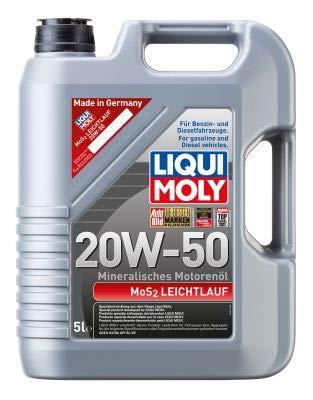 Liqui Moly 1212 MoS2 Leichtlauf 20W-50 Booklet 5 L