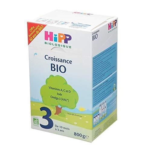 HiPP Biologique Lait 3 BIO Croissance boîte 800 g de 10 mois à 3 ans