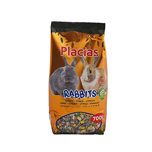 PLACIAS Comida Conejo Enano 700G