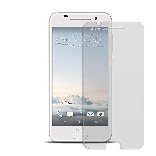 Conie 9H618 9H Panzerfolie Kompatibel mit HTC One A9, Panzerglas Glasfolie 9H Anti Öl Anti Fingerprint Schutzfolie für One A9 Folie HD Clear