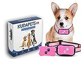 Advanced 2in1 Anti Bark Dog Collar   KUDAPETS Stops Dog Excessive Barking  