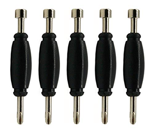 Teak Tuning Standard Fingerboard Tool, Screwdriver and Nut Driver, Black Colorway, Pack of 5