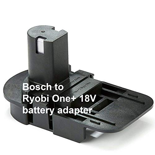 Battery Adapter Bosch to Ryobi One+ - Badaptor Replacement for 18V Bosch Batteries and Ryobi Power Tools Works with Ryobi 18V One+ Cordless Power Tools + European Hand Cream + e-Book