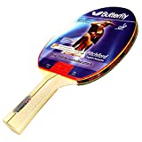 Butterfly Liam Pitchford 1500 Table Tennis Bat - ITTF Approved, 1.5 mm, Addoy Rubber