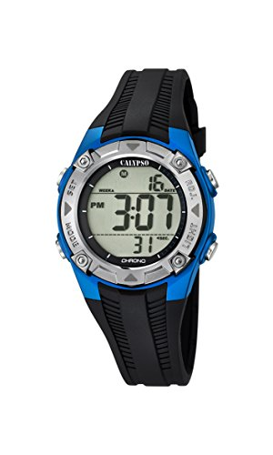 Calypso Unisex Digital Quarz Uhr mit Plastik Armband K5685/5