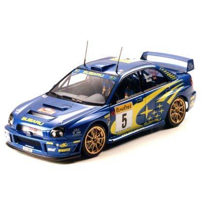 Tamiya 24240 1:24 Subaru Impreza WRC 2001, Modellbausatz,Plastikbausatz, Bausatz zum Zusammenbauen, detaillierte Nachbildung