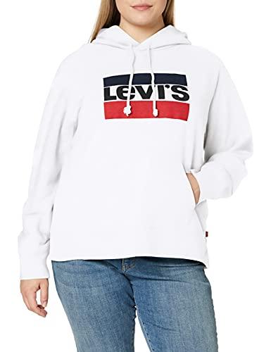 Levi's - 35946 - Sweat a Capuche - Femme,Écru (Sportswear Hoodiee White 0001),XS