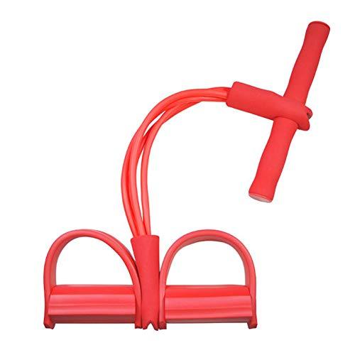 WISDOMLIFE Gfung Widerstandstraining, Beintrainer, Yoga, Sit-up Gym Equipment, 50cm, Rot