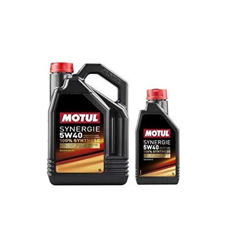 MOTUL - Aceite sinergia para gasolina 5W40 5+1L (bidón)
