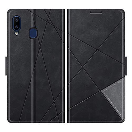 "Funda para Samsung Galaxy A20 / A30, 6,4"" Funda Libro Samsung A20, Funda Móvil Samsung Galaxy A20 / A30 Magnético Carcasa para Samsung Galaxy A20 / A30 Funda con Tapa"
