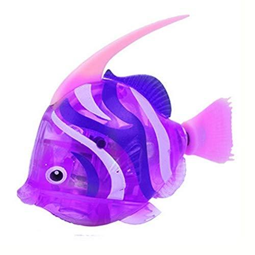 Schwimmroboter Fisch, Schwimmfischroboter im Wasser aktiviert, magisches elektronisches Badespielzeug, Bildung lustige Geräte interessantes Spielzeug Geschenk für Kinder