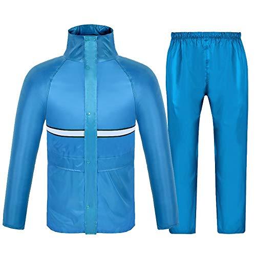 Ropa impermeable AINUO Pantalones de Lluvia Pantalones de Lluvia Conjunto Malla Transpirable...